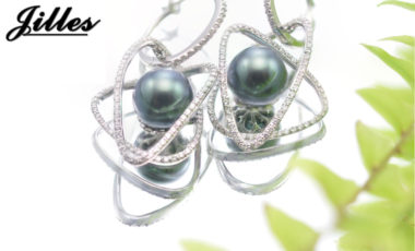 Tahitian Pearl Earrings Carlissa